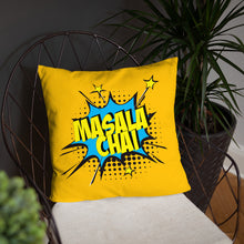 Masala Chai Throw Pillow