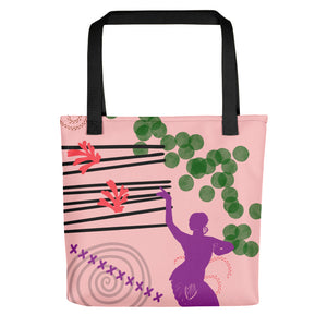 Dancing with my Plants Tote bag