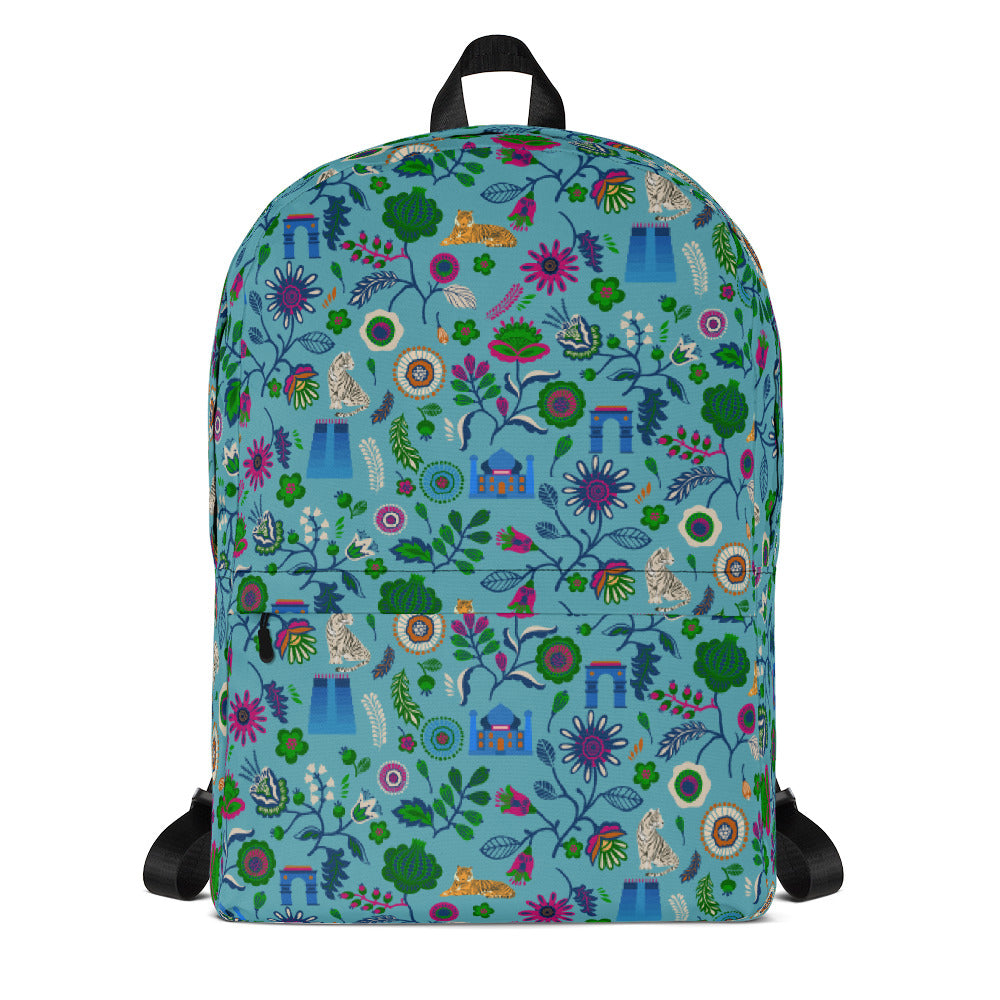 Masala Pop Store indian Tigers Backpack