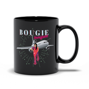 Bougie Immigrant Black Mug (Zarna Garg Collection)