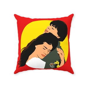 DDLJ Bollywood Couple Throw Pillow