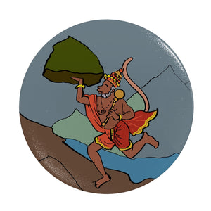 Hanuman with Jadibooti Phone Grip