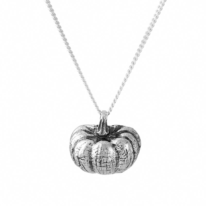 PUMPKIN PATCH - STERLING SILVER NECKLACE