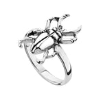 SCUTTLE - STERLING SILVER RING