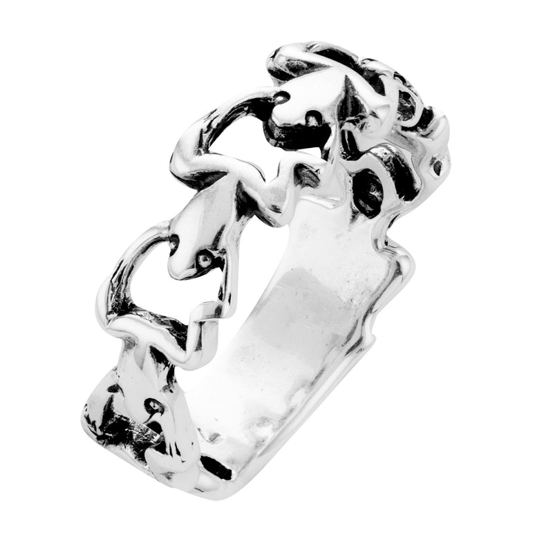 FROGLETS - STERLING SILVER RING