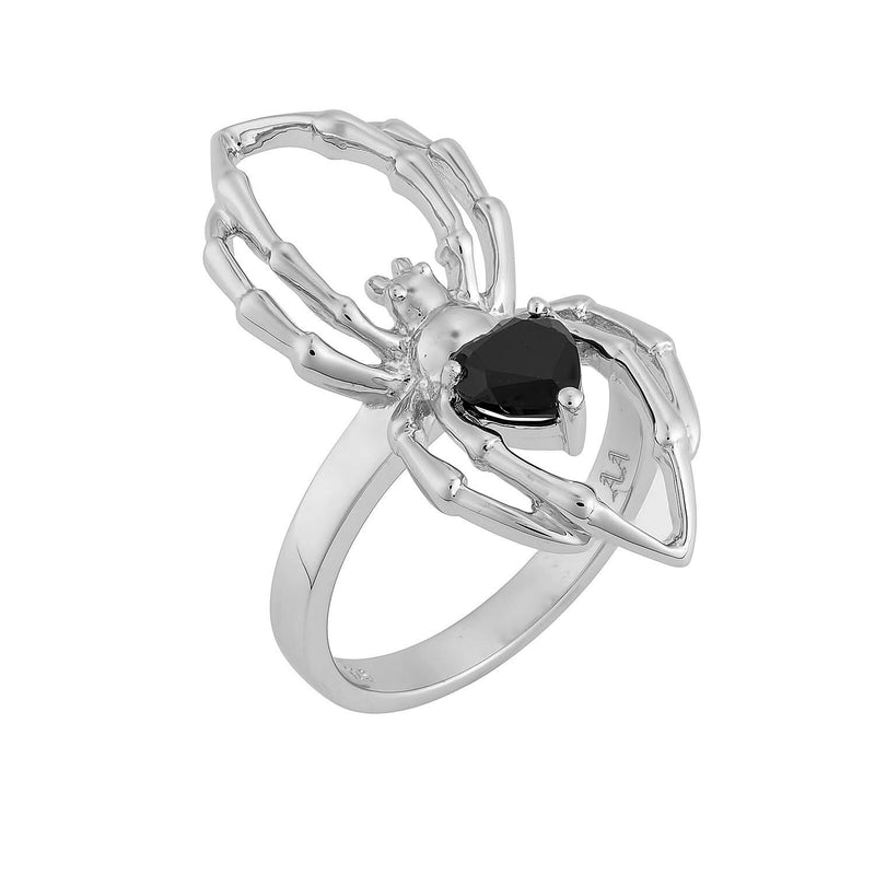 VENOM ~ STERLING SILVER & ONYX RING