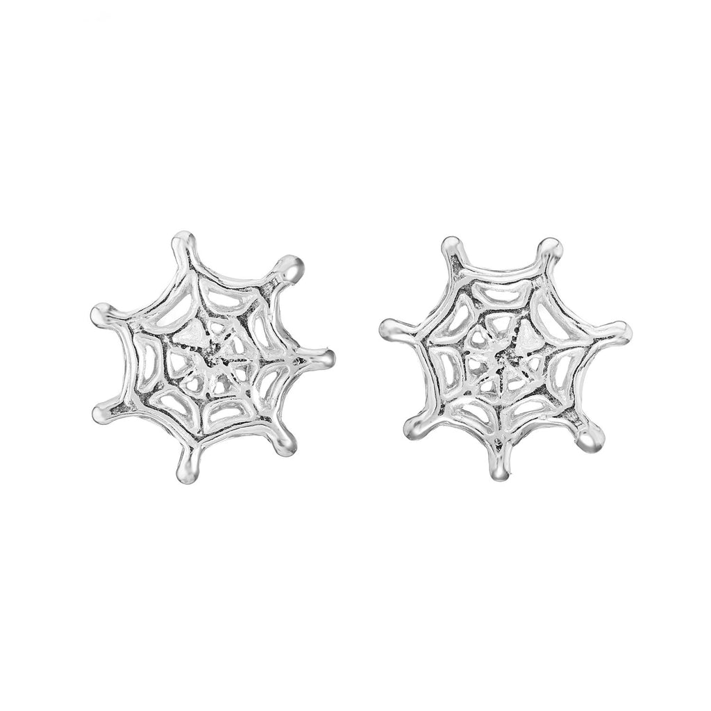 TEENY WEB - STERLING SILVER STUDS