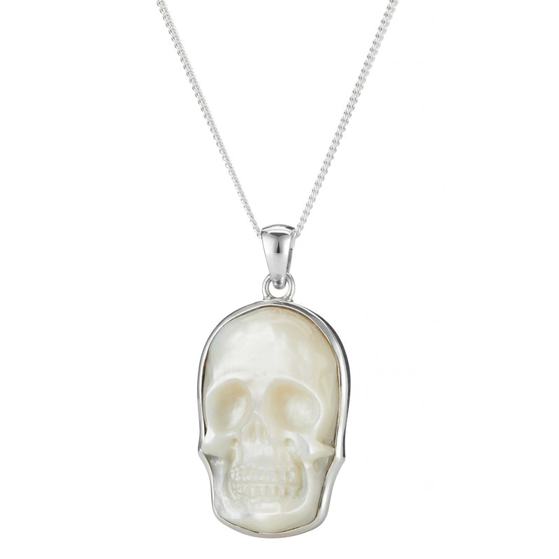 MOTHER OF SKULLS - STERLING SILVER NECKLACE