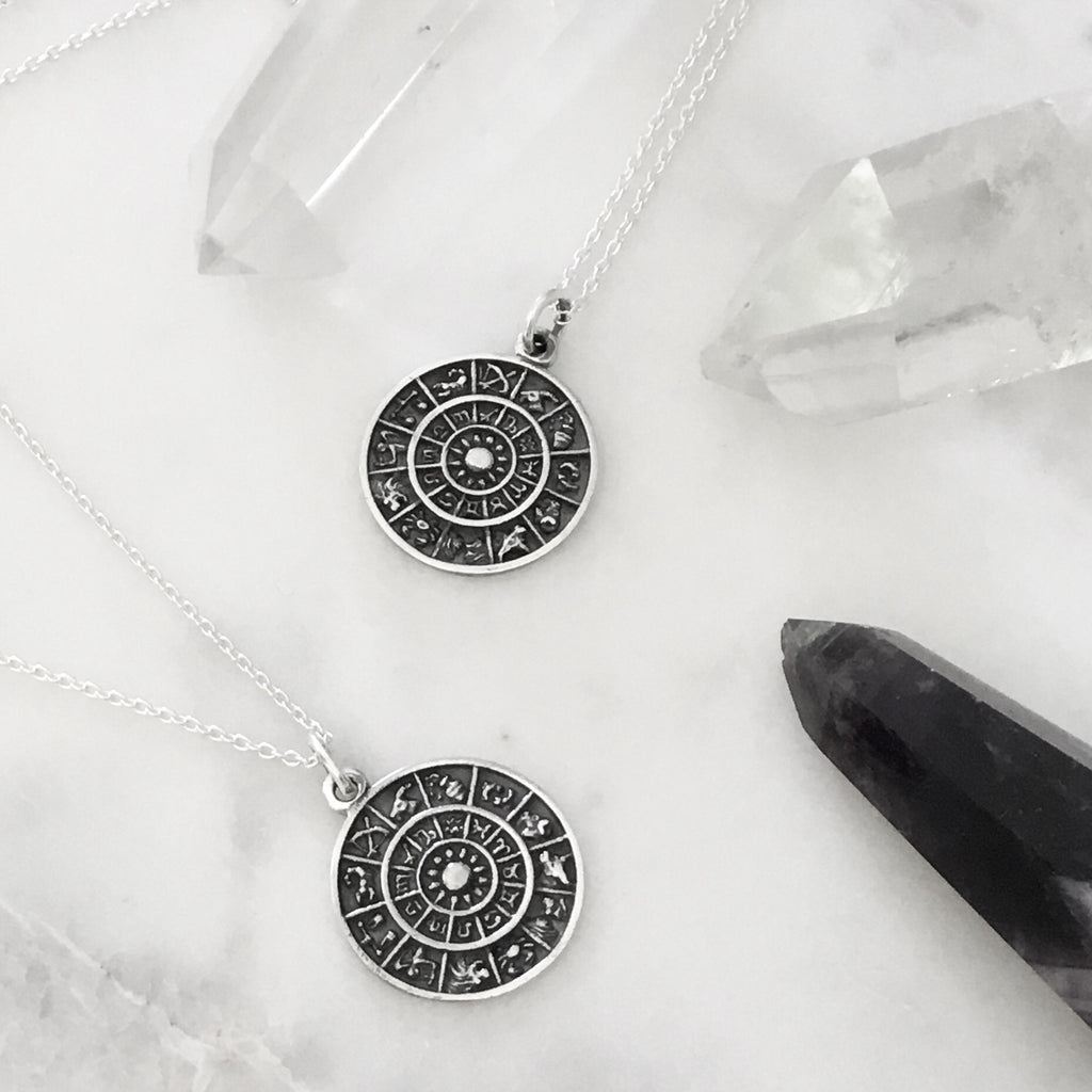 ASTROLOGY - STERLING SILVER NECKLACE