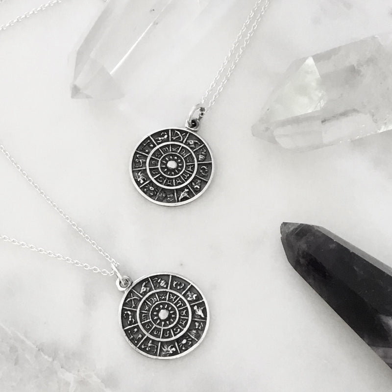 ASTROLOGY ~ STERLING SILVER NECKLACE