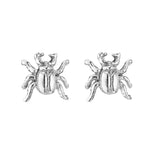 BEETLE BUG - STERLING SILVER STUDS