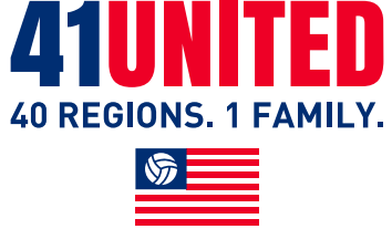 41 United - USA Volleyball Regions' Campaign To Help Those Impacted By COVID-19