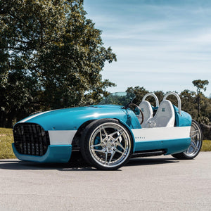 Vanderhall Miami Blue Vehicle Wrap