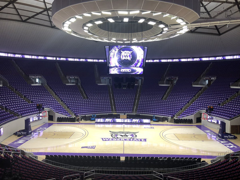Dee Events Center - Weber State University (Inside)
