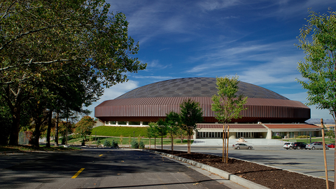 Dee Events Center - Weber State University (Outside)