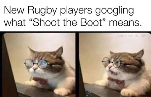 Gift Time Rugby Network Rugby Meme #6