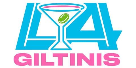 Los Angeles Giltinis Major League Rugby Logo