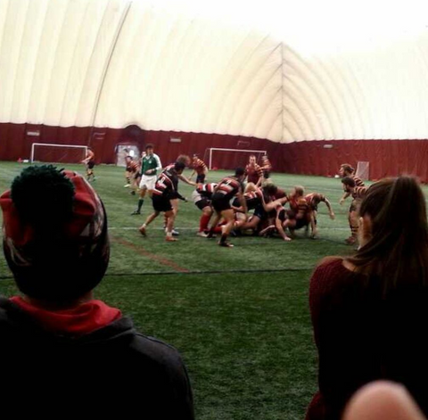 Arch Jones First Rugby Match with St. Cloud State University