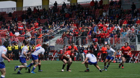 Utah Warriors Rugby Play at Zions Bank Stadium