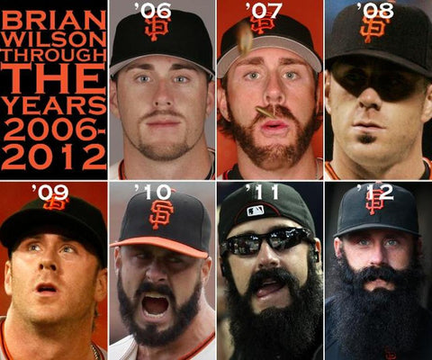 Brian Wilson - The Evolution of The Beard
