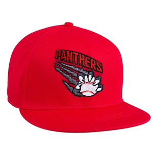 Panthers Red Baseball Hat