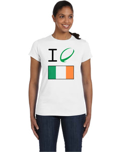Ireland Rugby Women's T Shirt