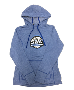 Intermountain Volleyball Light Royal Blue Salt Lake City Bid Tournament Hoodie