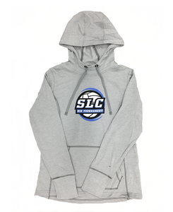 Intermountain Volleyball Light Gray Salt Lake City Bid Tournament Hoodie