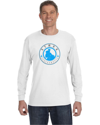 Staerk Performance White Thor Long-Sleeve Tee