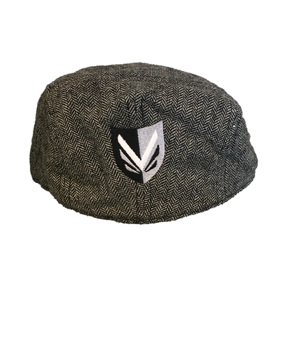 Vanderhall Gray District Driving Hat (Back with Vanderhall Shield)