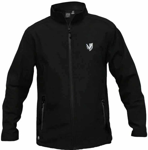 Vanderhall Men's Black Soft Shell Jacket