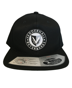 Vanderhall Snapback Flexbit Circle Patch Black