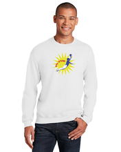 White All Star Crewneck Sweatshirt - Gracia Lee