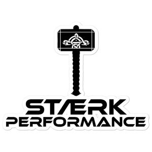 Staerk Performance Black Hammer Sticker