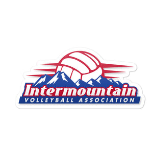 Intermountain Volleyball Association Logo Sticker