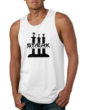 Staerk Performance White Sword Men's Tank Top