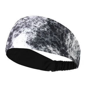 Women Gray Volleyball & Yoga Headband