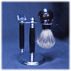 Ebony Deluxe Shaving Kit - 1806