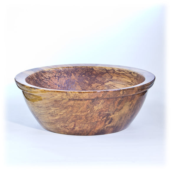 Extra Large Spalted Maple Bowl - 2041