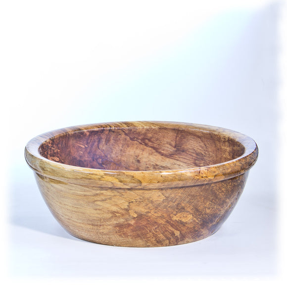 Large Spalted Maple Bowl - 2042