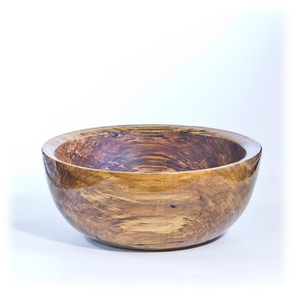 Large Spalted Maple Bowl - 2043