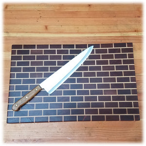 Medium Brick Wall End-Grain Cutting Board - CB1807