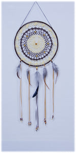 "10"" Dream Catcher (Yellow/Brown) - 1015"
