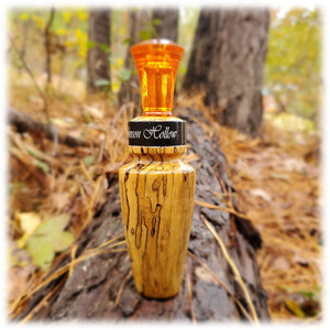 Spalted Hackberry Duck Call - 1977