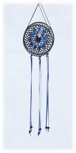 "6"" Dream Catcher (Black & Blue) - 626"
