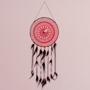 "14"" Dream Catcher (Red & Black)"