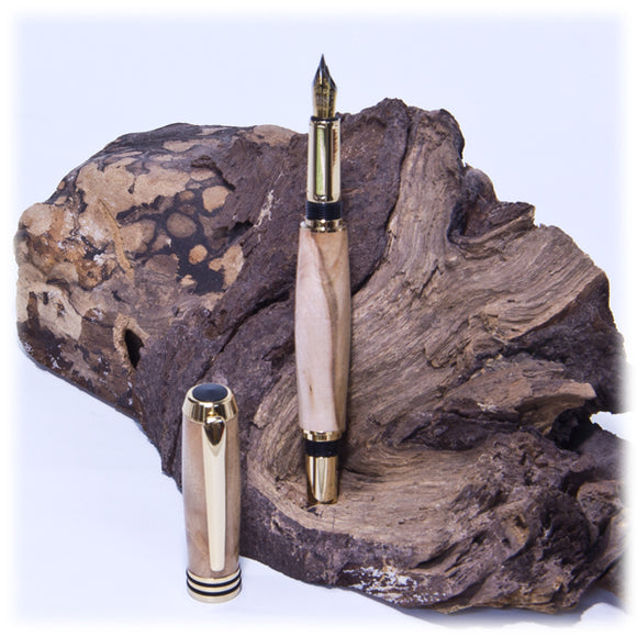 Tycoon 24kt Gold Fountain Pen  (Special Order)