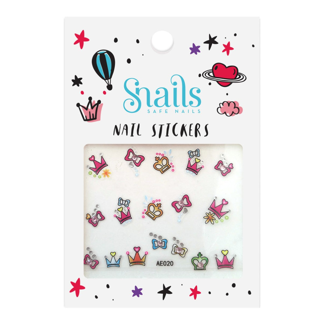 Nail Stickers, Perfect Princess