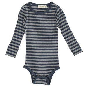 Modal body, Blue/Grey Stripe