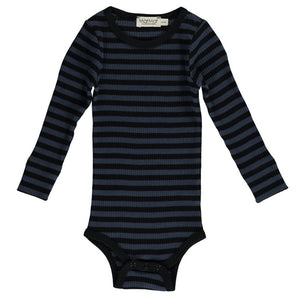 Modal body, Black/Blue Stripe